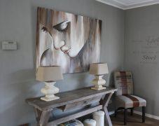 Woonkamer met Painting the Past verf