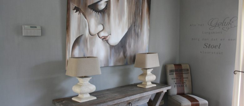 Woonkamer Met Painting The Past Verf D Colours