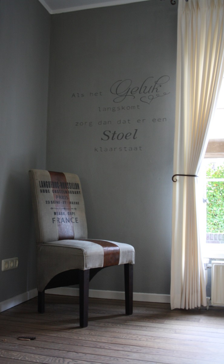 Woonkamer met Painting the Past verf – D-Colours