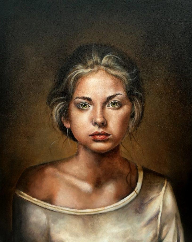 Portret schildering