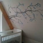 Babykamerschildering Boom